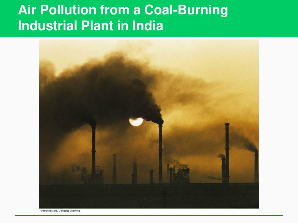 Air Pollution from a Coal-Burning Industrial Plant in India