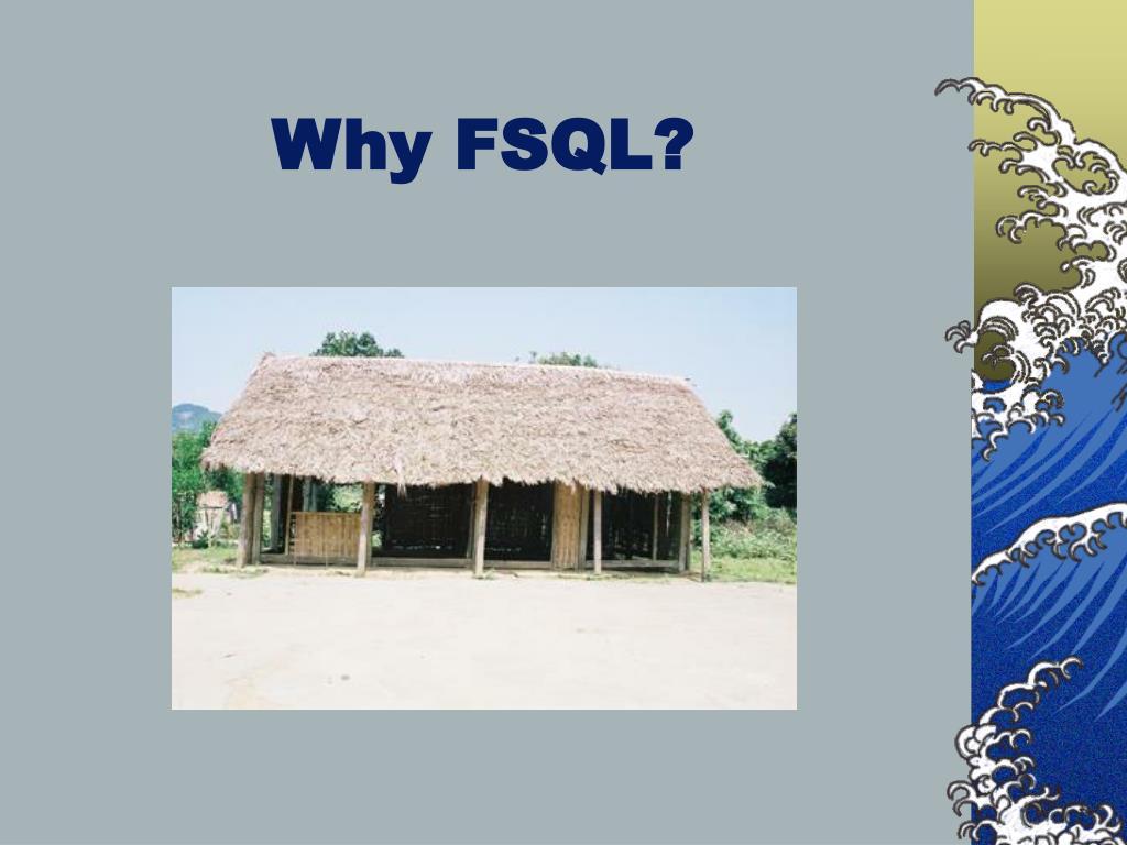 Why FSQL?