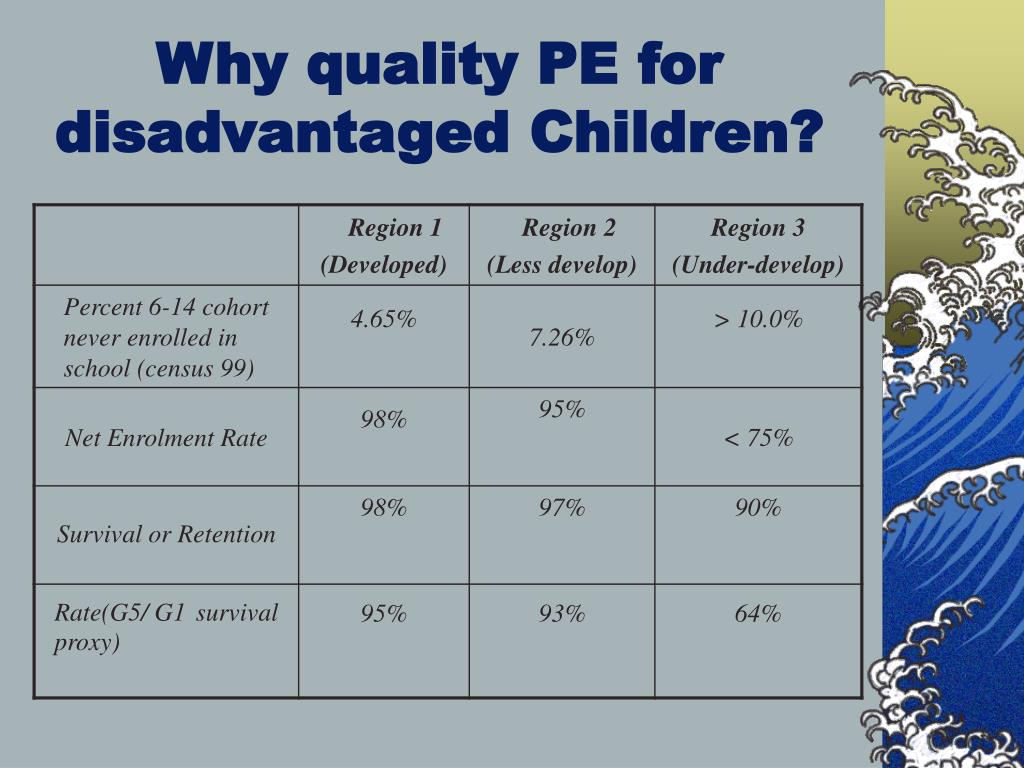 Why quality PE for