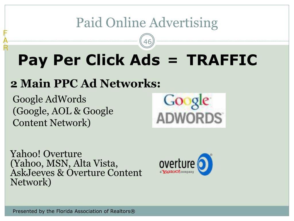 Paid Online Advertising