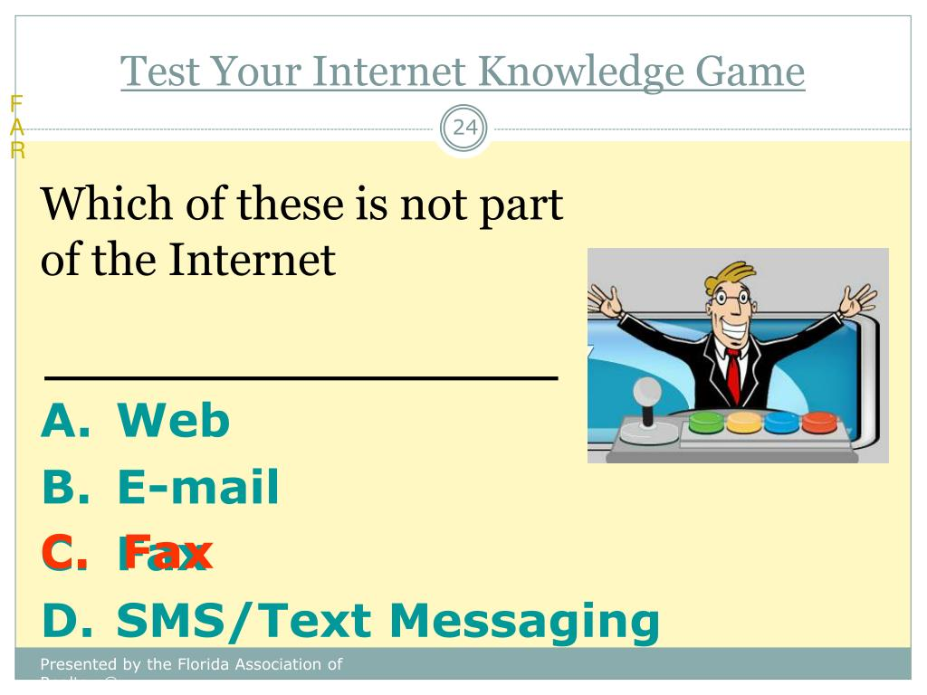 Test Your Internet Knowledge Game