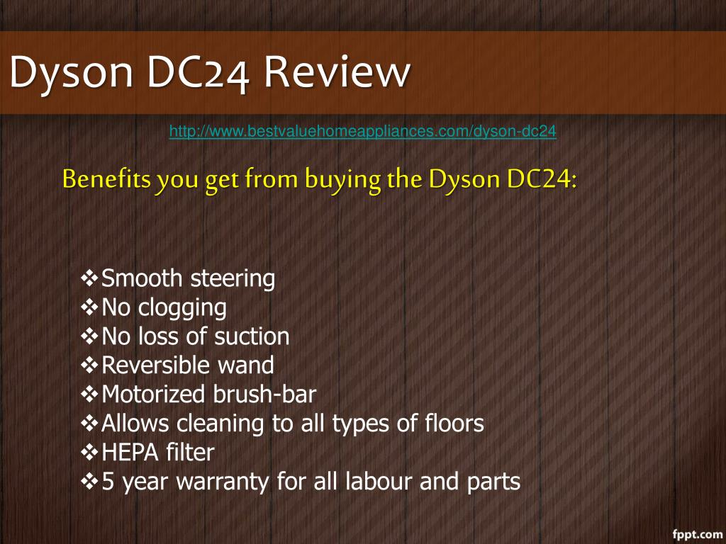 Dyson DC24 Review