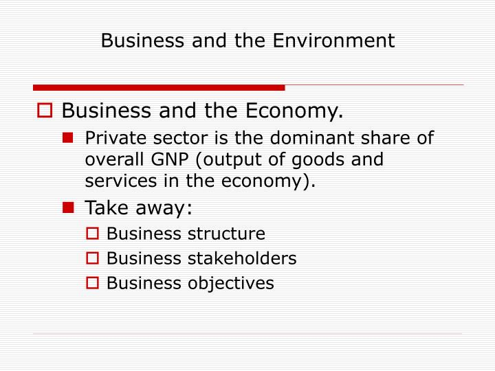 Business and the environment3