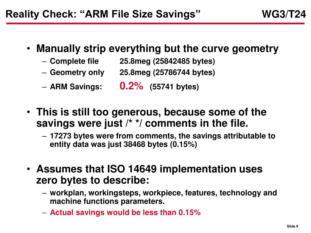 "Reality Check: ""ARM File Size Savings"""