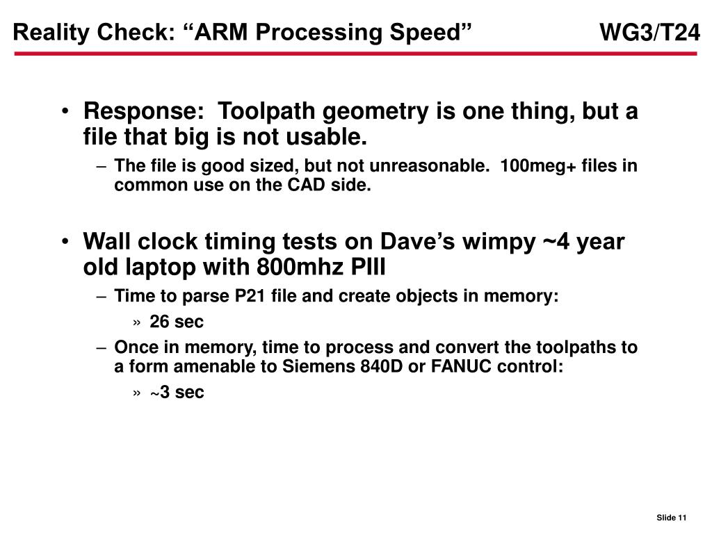"Reality Check: ""ARM Processing Speed"""