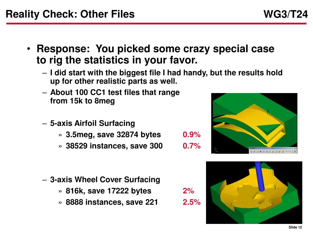 Reality Check: Other Files