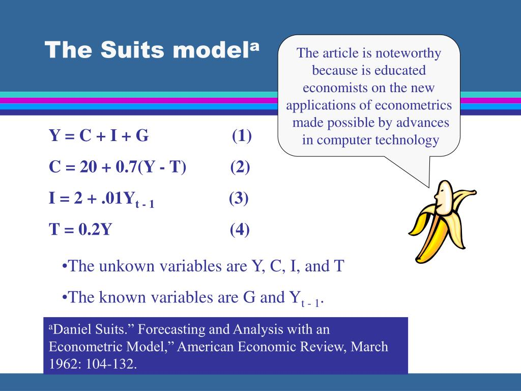 The Suits model