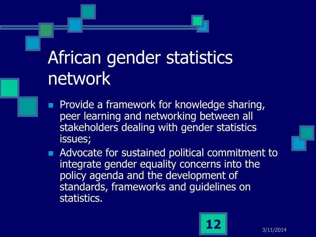 African gender statistics network