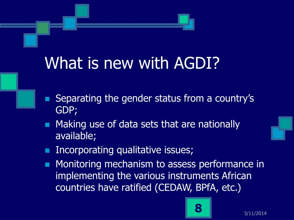 What is new with AGDI?