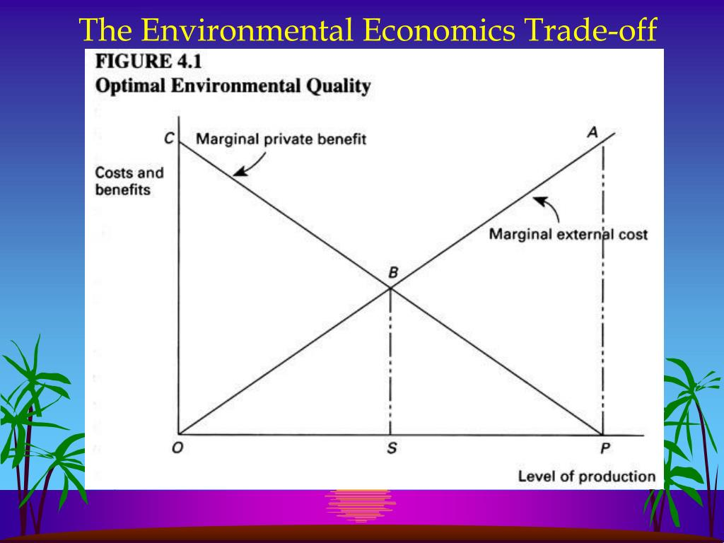 The Environmental Economics Trade-off