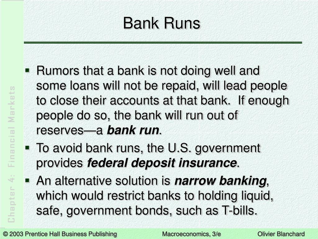 Bank Runs