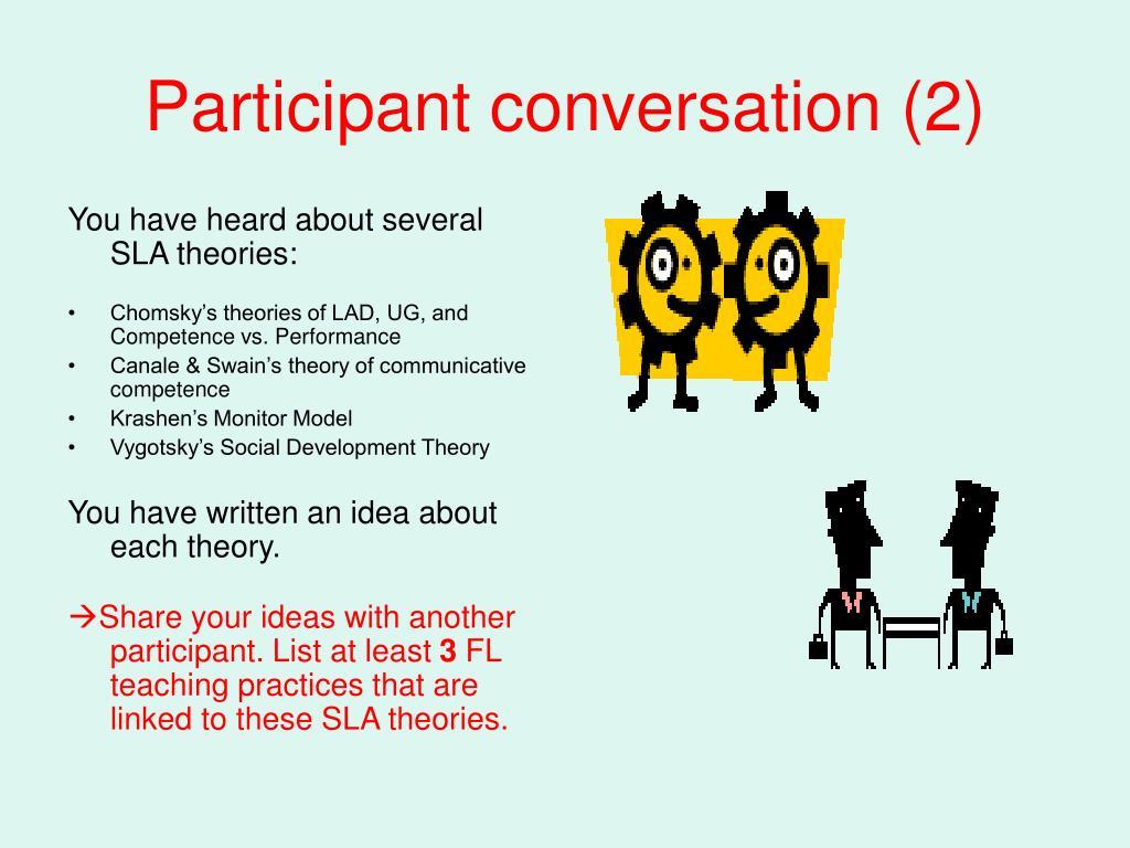 Participant conversation (2)