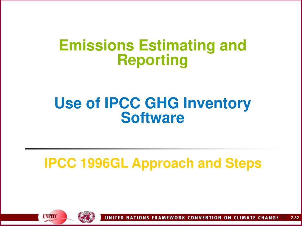 Emissions Estimating and Reporting