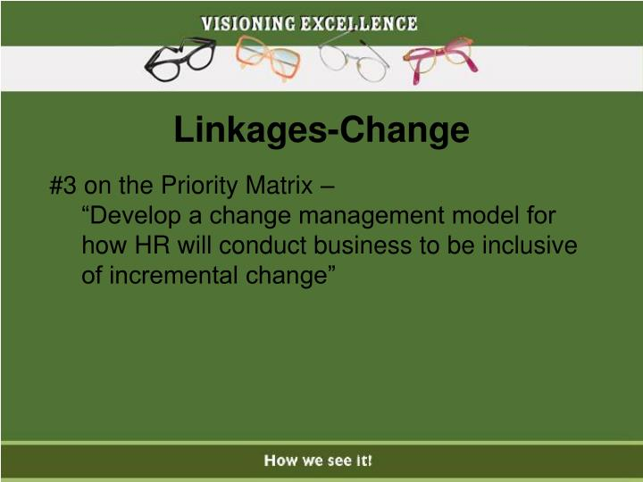 Linkages-Change