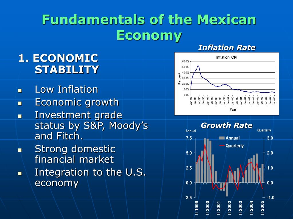 Fundamentals of the Mexican Economy