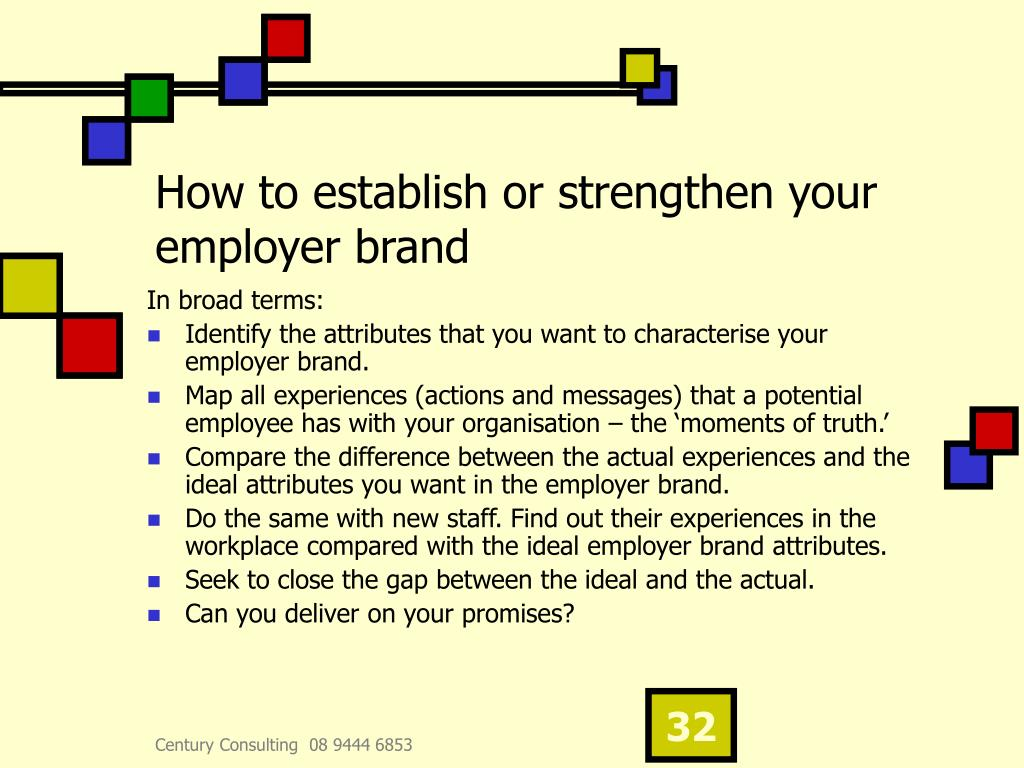 How to establish or strengthen your employer brand