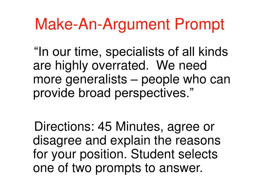 Make-An-Argument Prompt