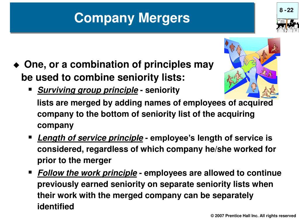 Company Mergers