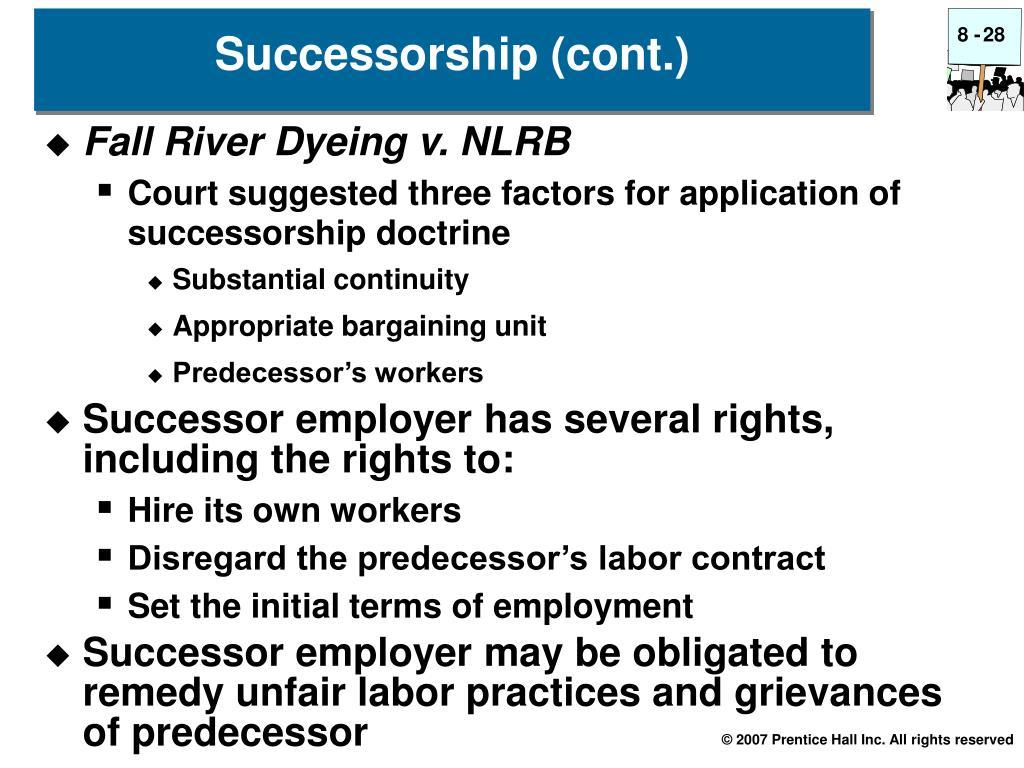 Fall River Dyeing v. NLRB