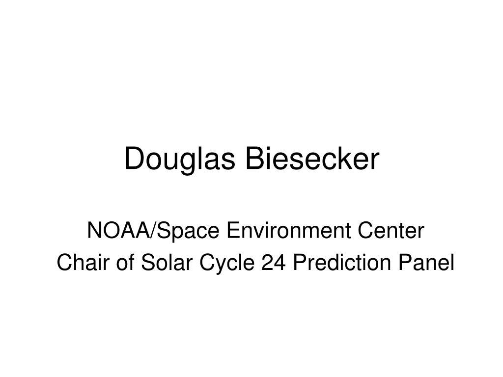 Douglas Biesecker