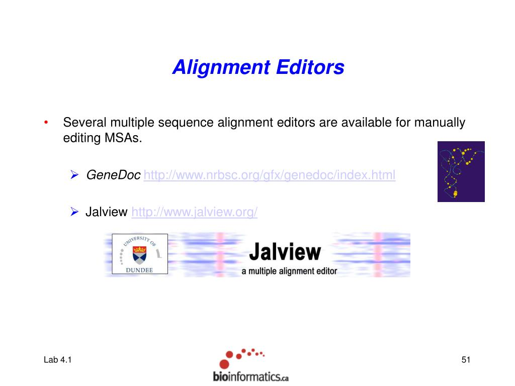 Alignment Editors