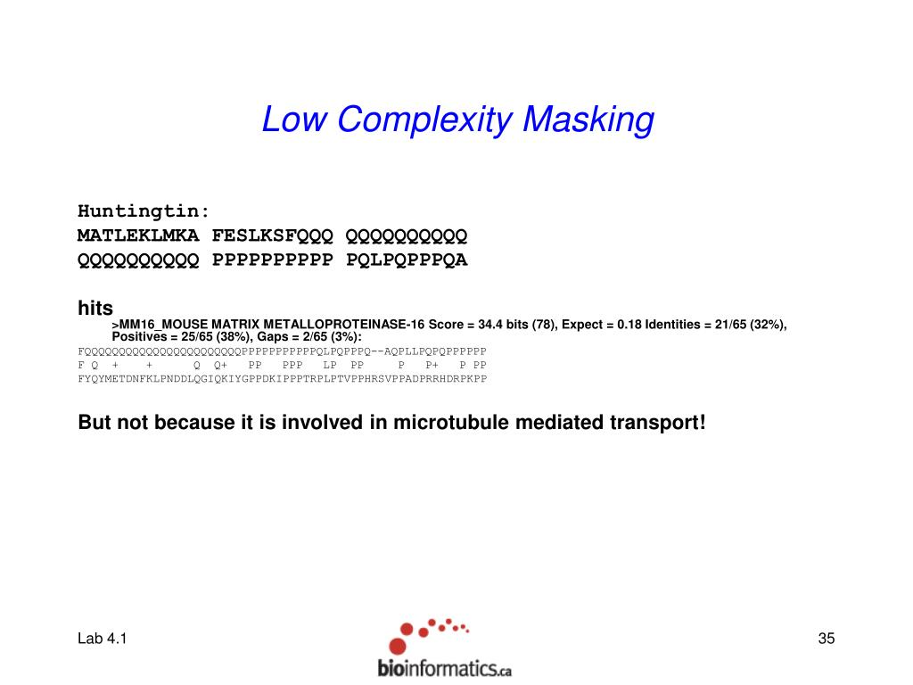 Low Complexity Masking