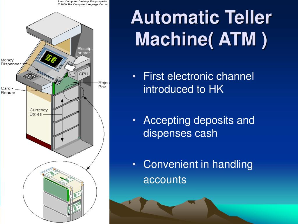 Automatic Teller Machine( ATM )