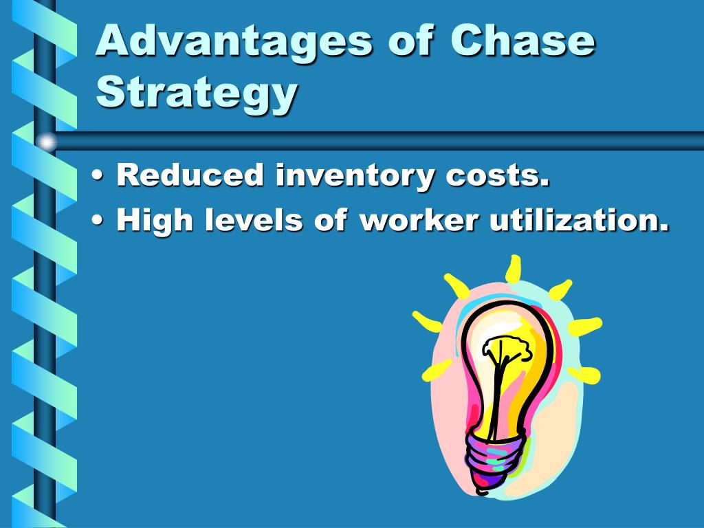 the chase strategy Encyclopedia of business, 2nd ed operations management: ob-or.