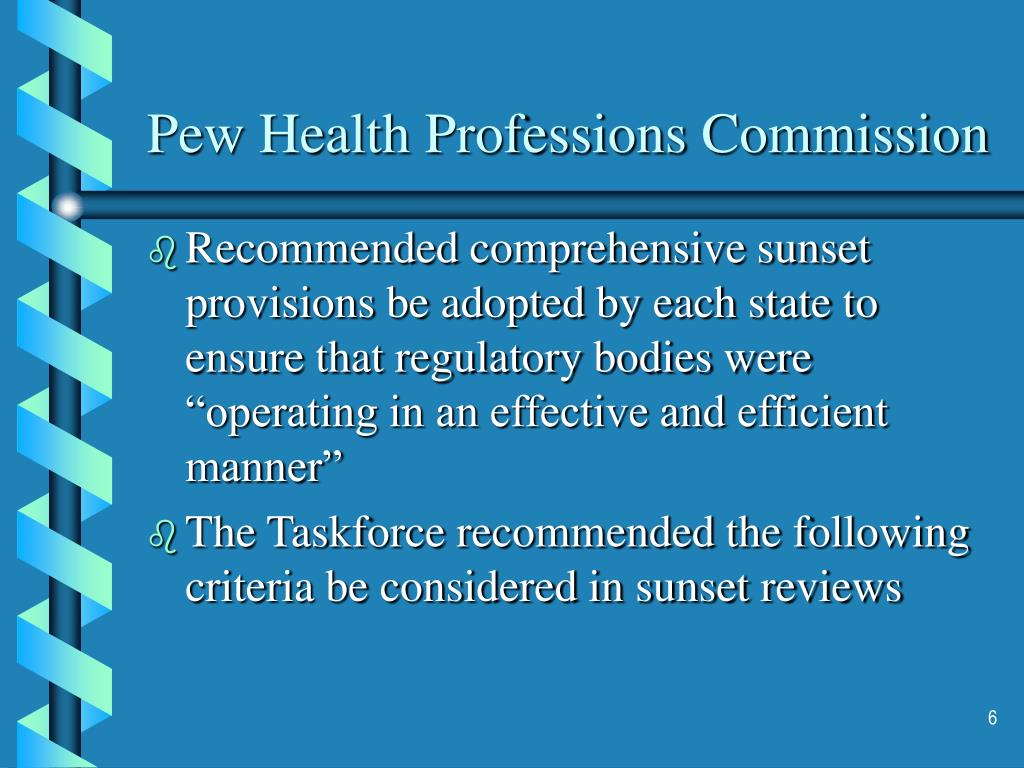 Pew Health Professions Commission