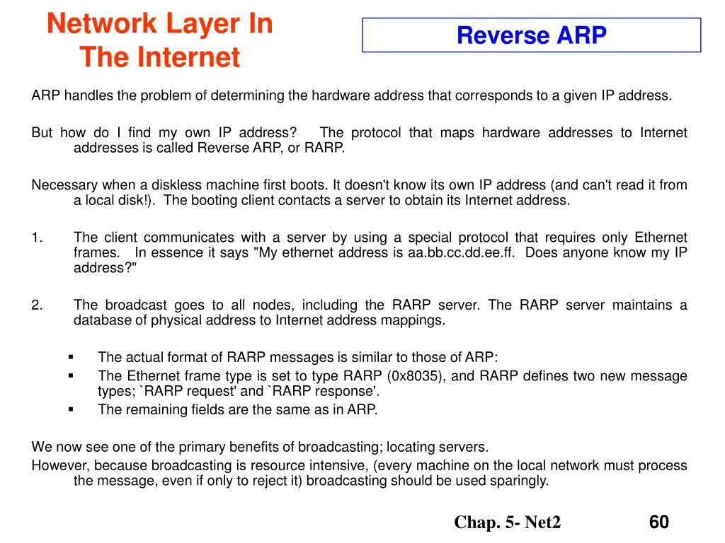 Reverse ARP