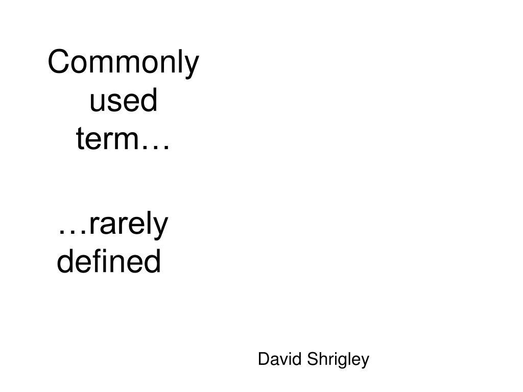 Commonlyused term…