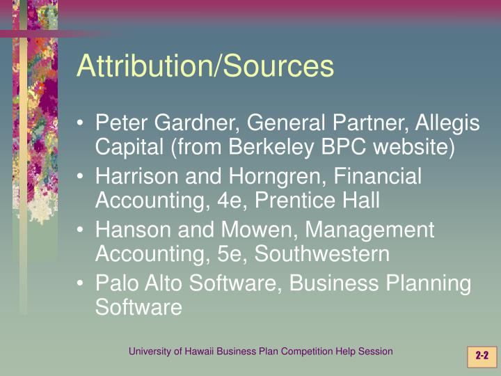 Attribution sources l.jpg