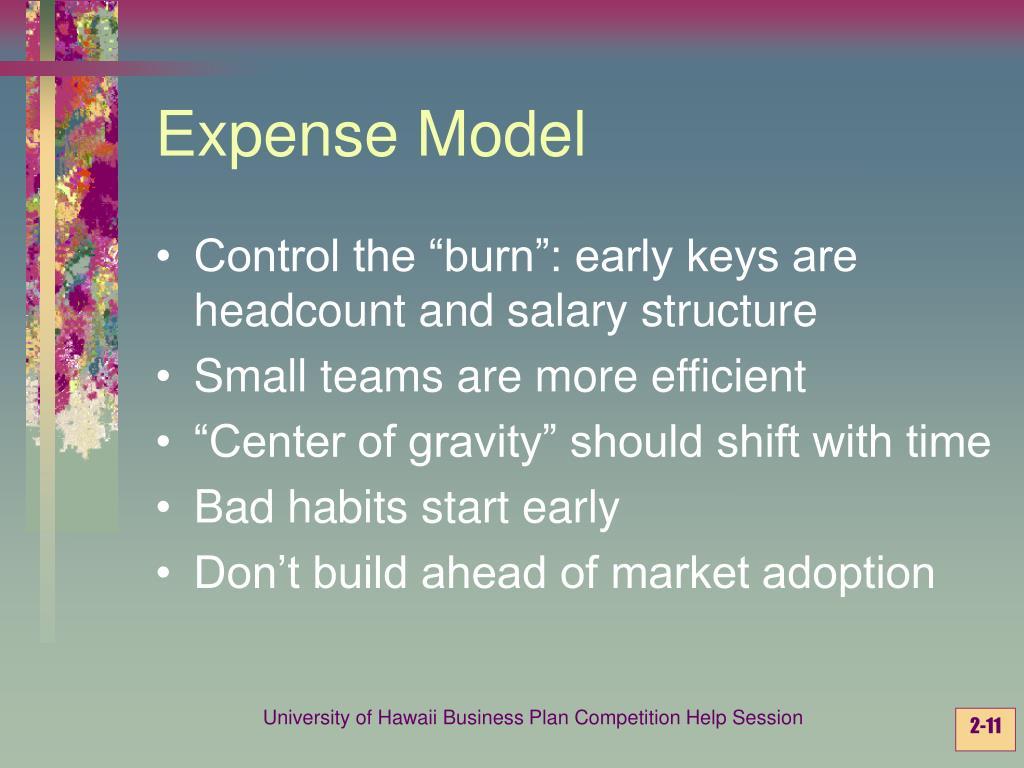 Expense Model