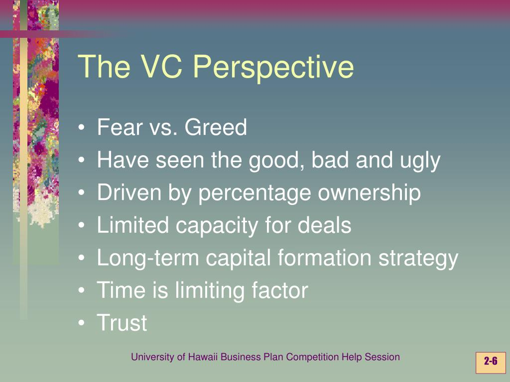 The VC Perspective