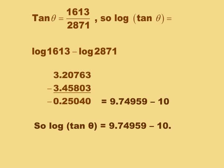 = 9.74959 – 10