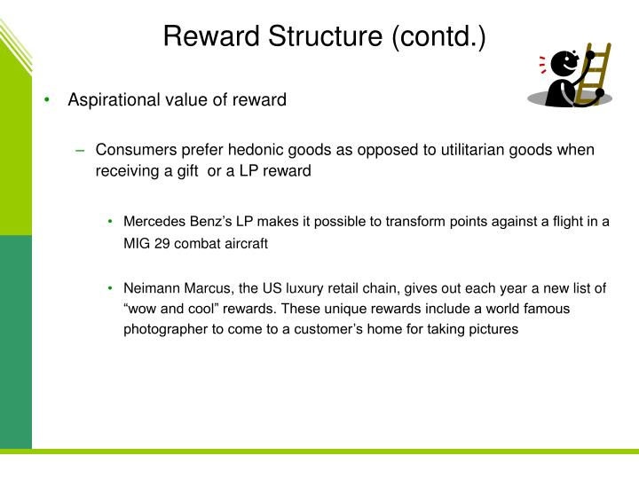 Reward Structure (contd.)