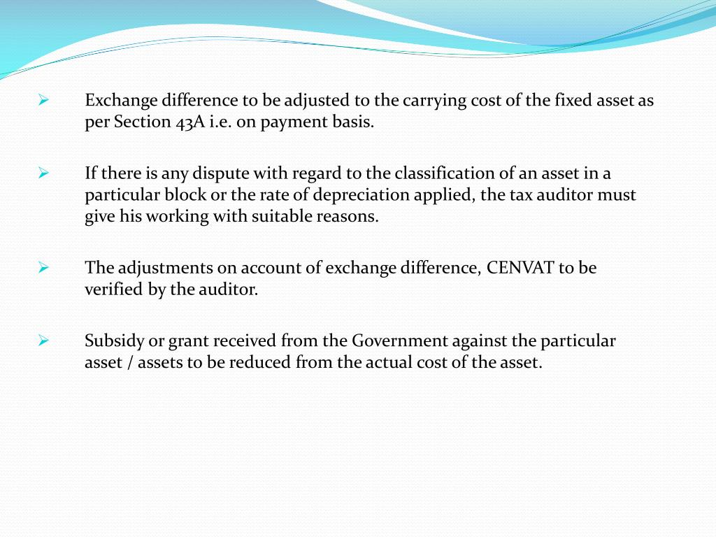 Exchange difference to be adjusted to the carrying cost of the fixed asset as per Section 43A i.e. on payment basis.