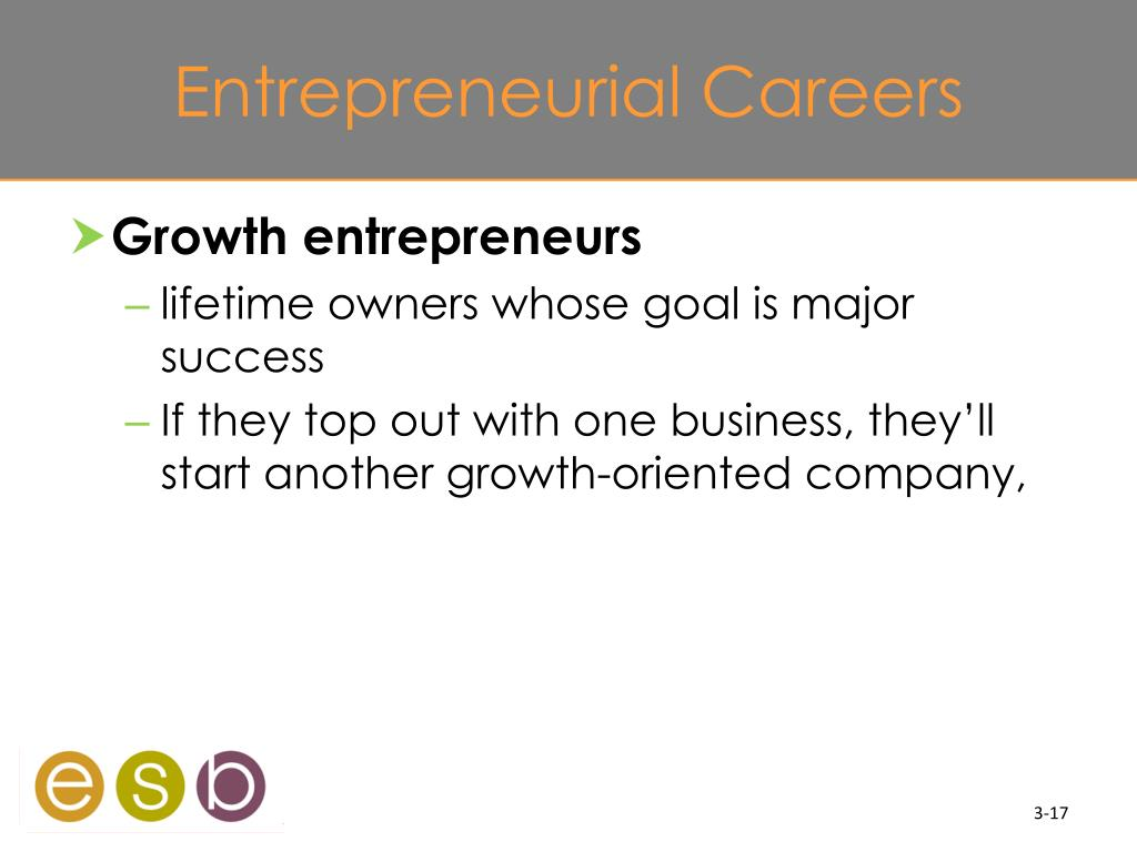 Entrepreneurial Careers