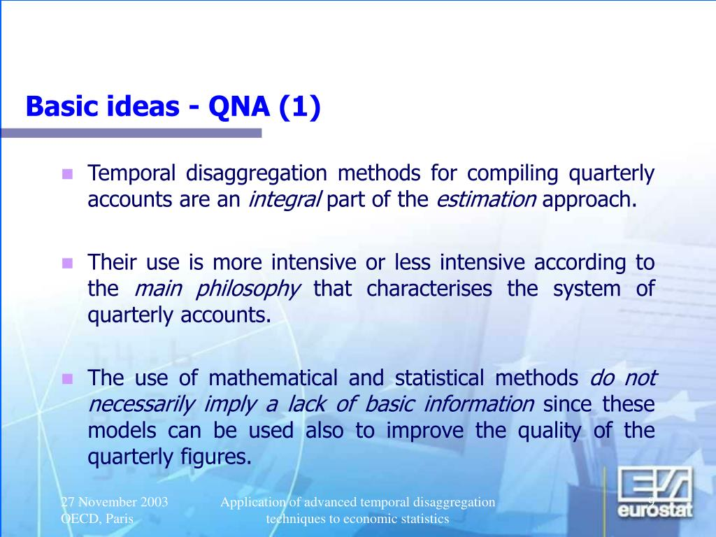 Basic ideas - QNA (1)