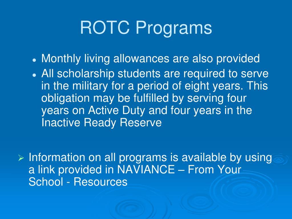 ROTC Programs