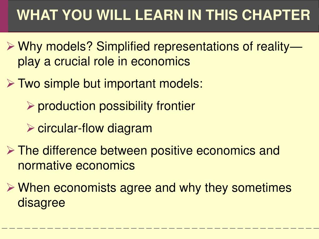 Why models? Simplified representations of reality—play a crucial role in economics