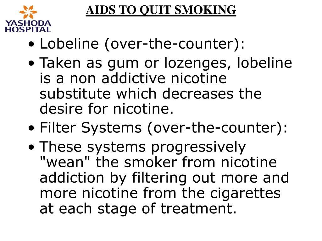 AIDS TO QUIT SMOKING