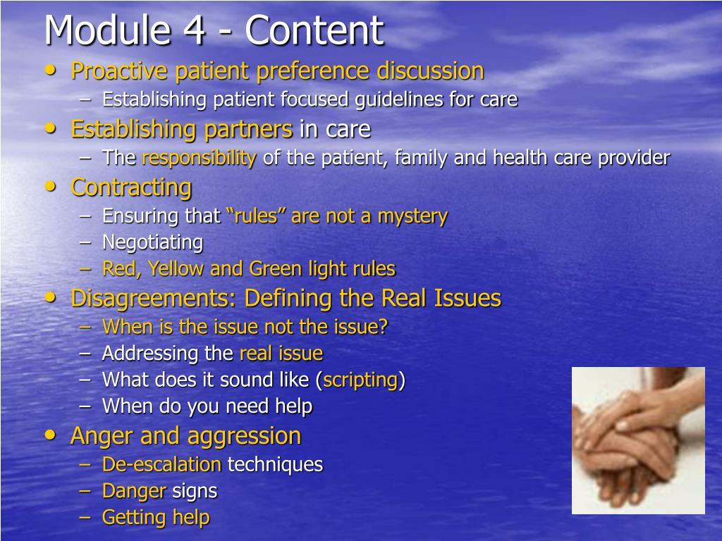 Module 4 - Content