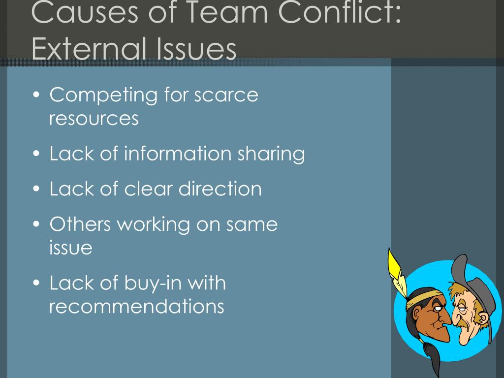 Causes of Team Conflict: