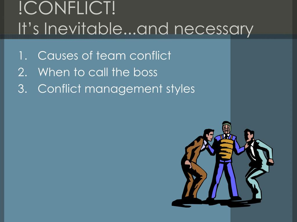 !CONFLICT!