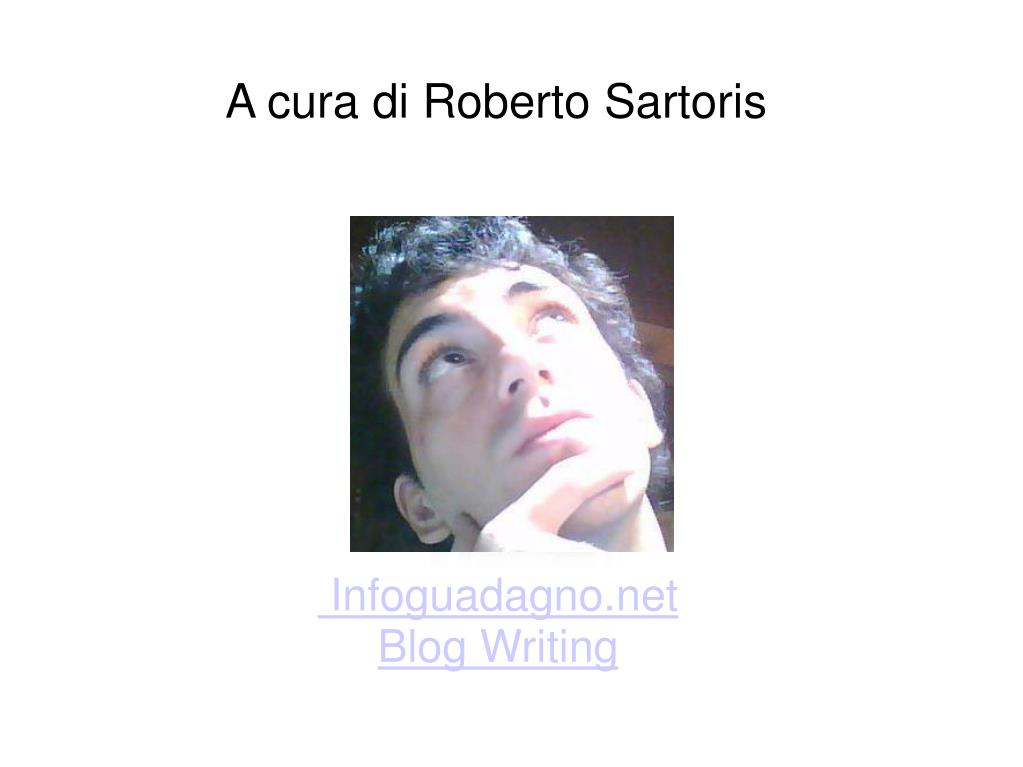 A cura di Roberto Sartoris