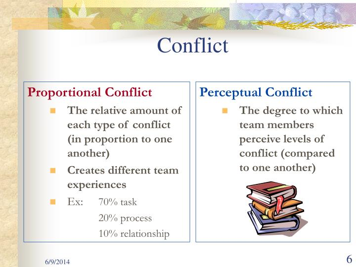 Proportional Conflict