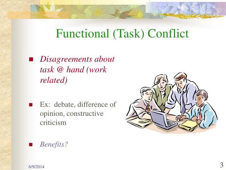 Functional (Task) Conflict