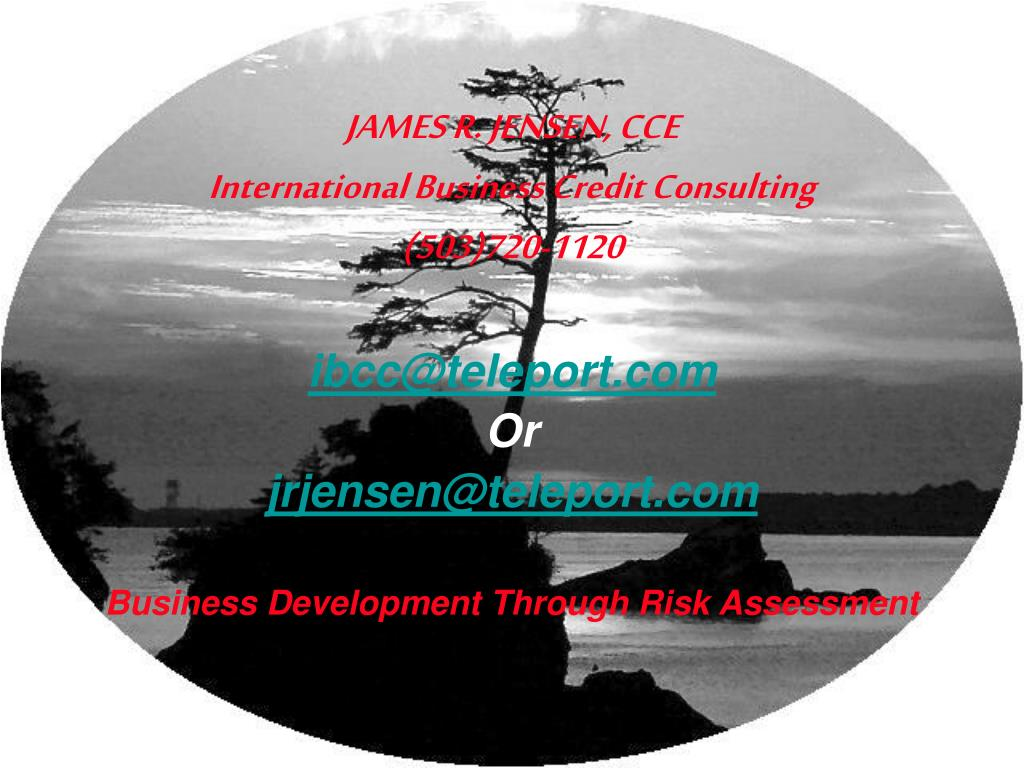 JAMES R. JENSEN, CCE