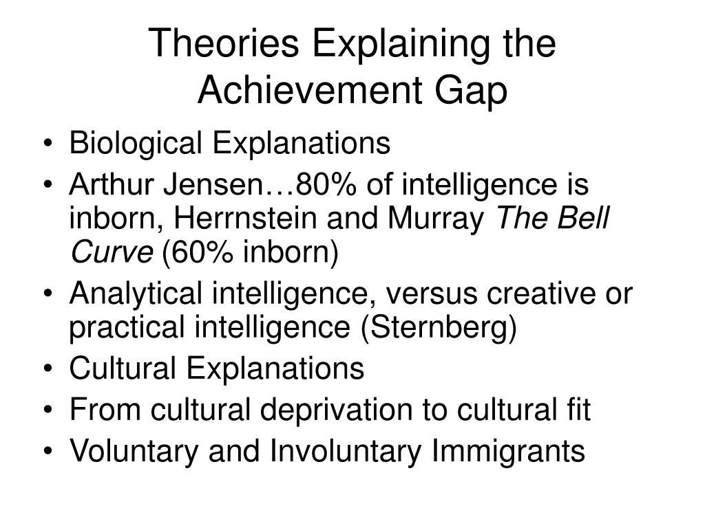 Theories Explaining the Achievement Gap